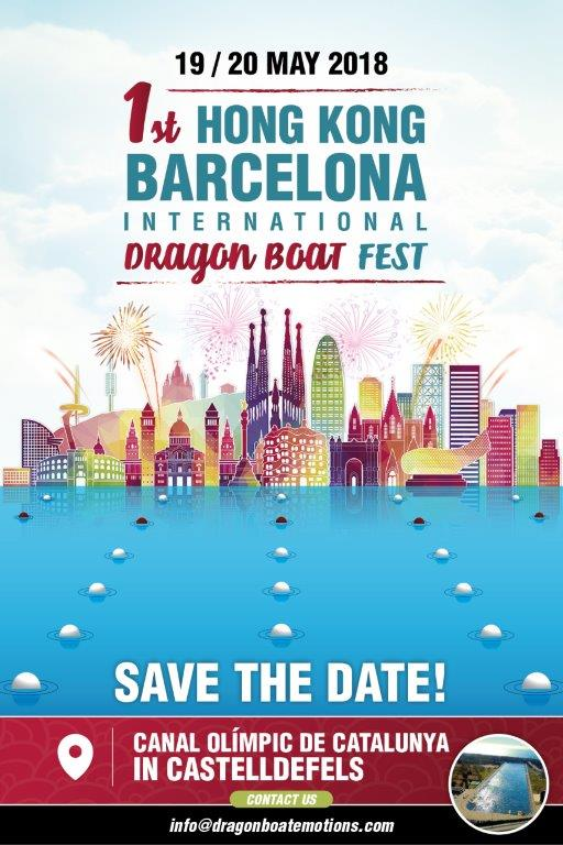 Hong Kong Barcelona Dragon Boat Festival, May 2018