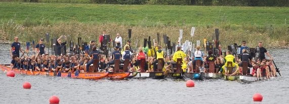 The Dutch dagonboat clubs gathered together